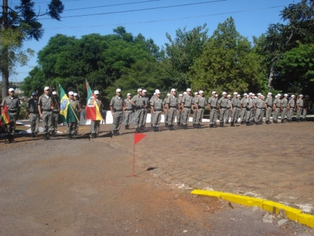 Brigada Militar, Tenente Coronel Cruz assume comando do 38º BPM