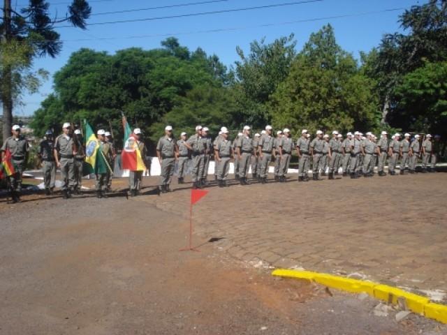 Brigada Militar, Tenente Coronel Cruz assume comando do 38º BPM