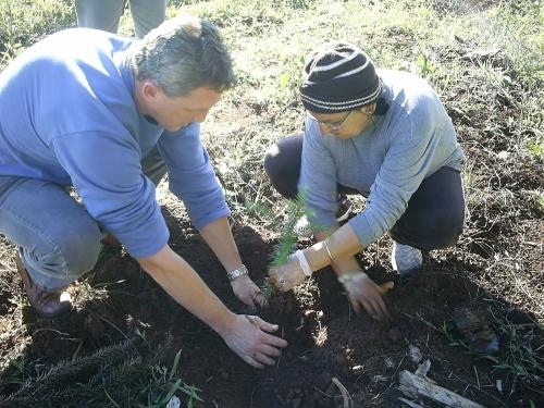 Jarré participa de evento em comemoração a Semana do Meio Ambiente.