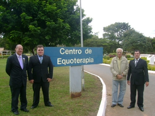 Vereadores visitam a sede da ANDE em Brasília