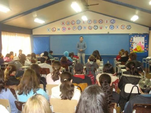 Campanha Carazinho contra o CRACK presente nas escolas