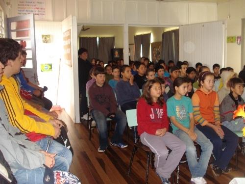 Campanha Carazinho contra o CRACK na Escola Pedro Pasqualotto