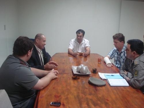 Comissão de Segurança Pública se reúne com a BM