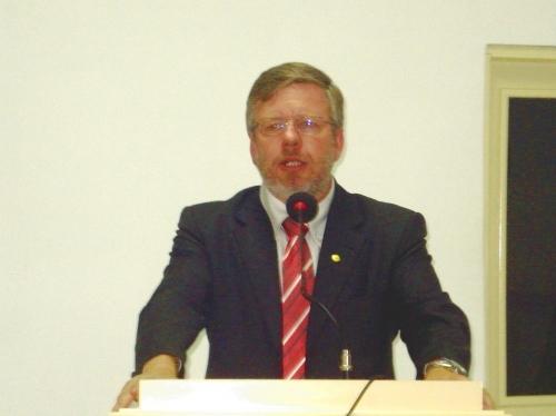 Legislativo de Carazinho recebe visita do Vice Presidente Legislativo Federal Marco Maia