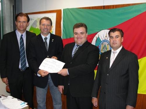 Saúde de Carazinho será contemplada com emenda do deputado Afonso Hamm