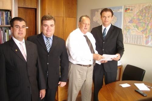 Professor Ruy Pauletti irá destinar emenda no valor de R$100 mil para o município