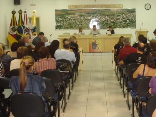 Legislativo recebe representantes Acapa e da empresa independente que realizam seus pronunciamentos na tribuna do povo