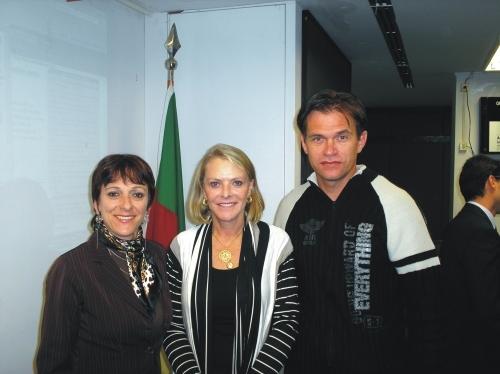 Erlei e Sandra participam de Audiência Pública sobre o CRACK e outras drogas.