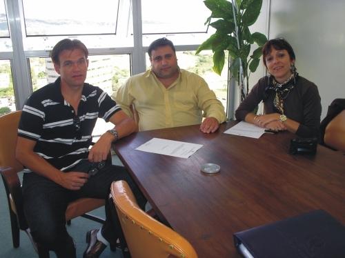Vereadores Erlei e Sandra buscam o fortalecimento das Redes de Cooperação.