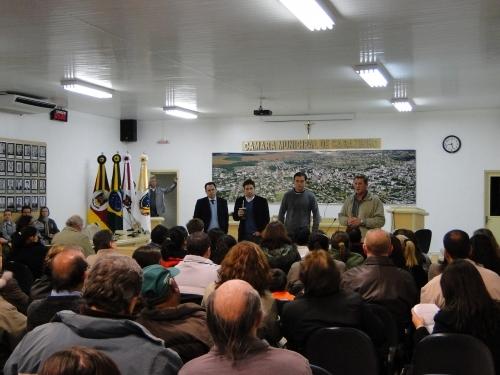 Vereadores reuniram funcionários do CMPP.
