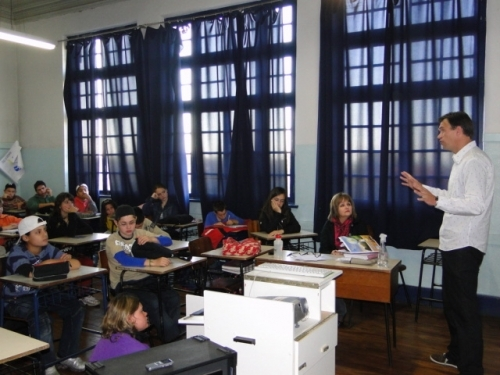 """Segunda Palestra da série """"NÃO USE DROGAS SEJA INTELIGENTE"""" promovida pelo Vereador Erlei Vieira"""