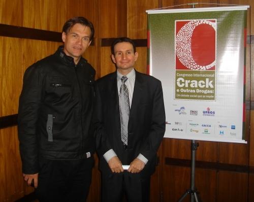 Vereador Erlei Vieira representa Legislativo no Congresso Internacional Crack e outras Drogas