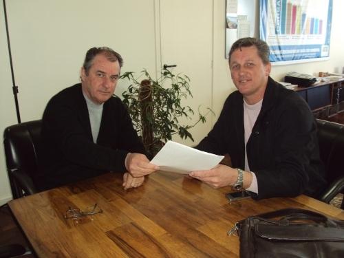 Jarré participa de audiência com Diretor Presidente da CORSAN.