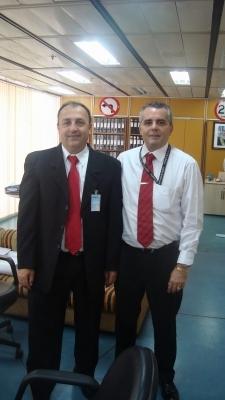 Vereador Marcos Soares participa de Audiência com o DNIT