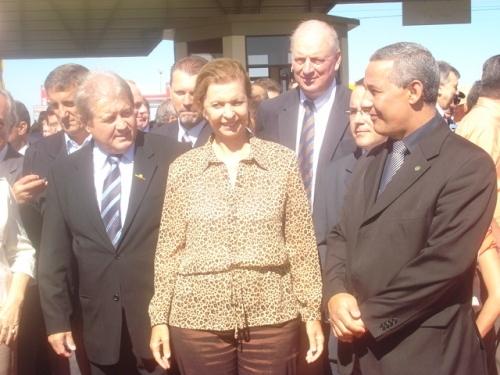 Governadora Yeda Cruzius abre oficialmente a EXPODIRETO COTRIJAL 2009