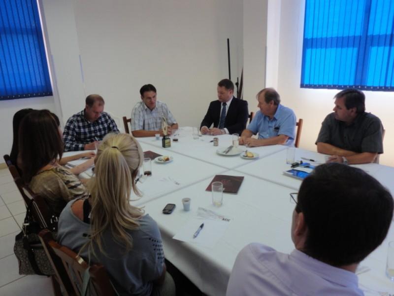 Reunião Almoço na ACIC