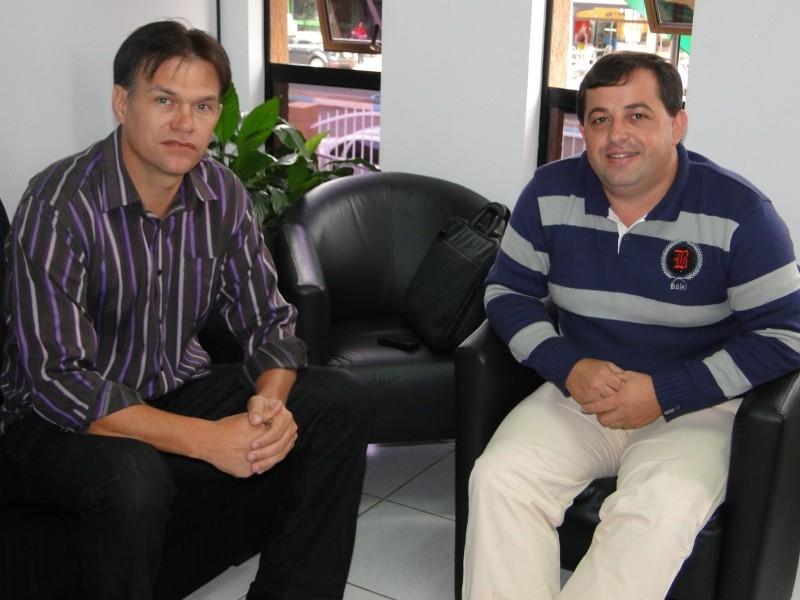 Erlei recebe diretor da Fundetec
