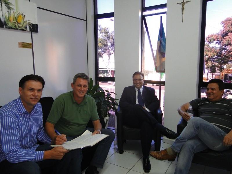 Vereador Gilnei Jarré  assume a Presidência interinamente a partir de hoje.