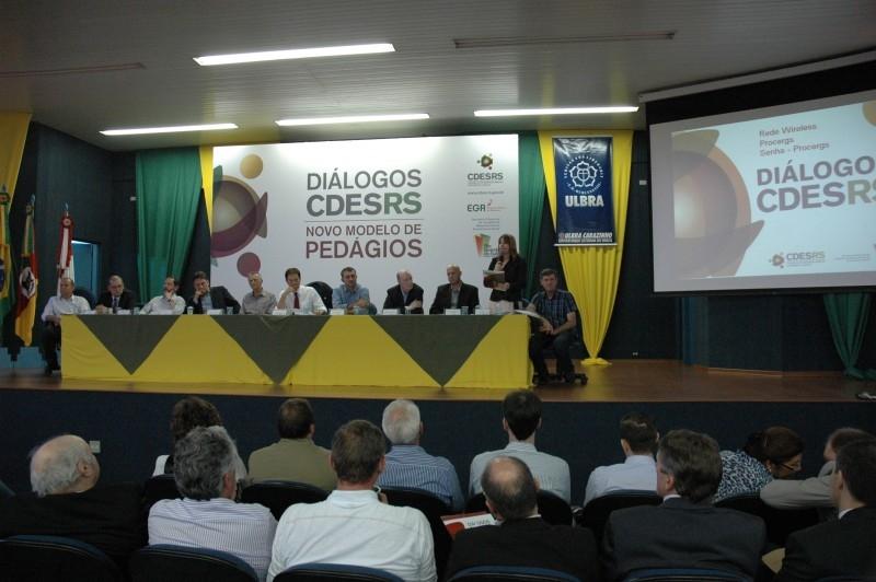 ULBRA sediou Diálogo sobre Novo Modelo de Pedágio