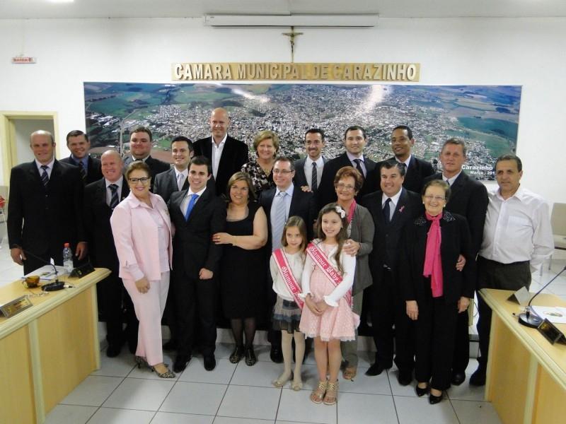HOMENAGENS A DRA.MARIA CECÍLIA E A LIGA FEMININA DE COMBATE AO CÂNCER