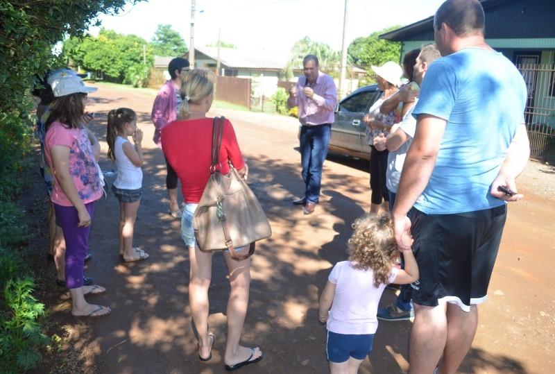 Vereadores ouvem comunidade no bairro Sandri