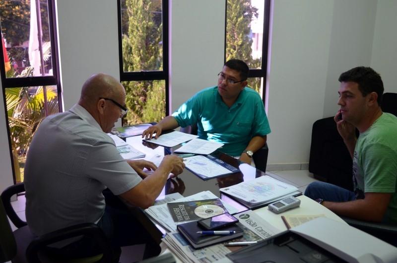 Licitação procura Legislativo para apresentar atividades