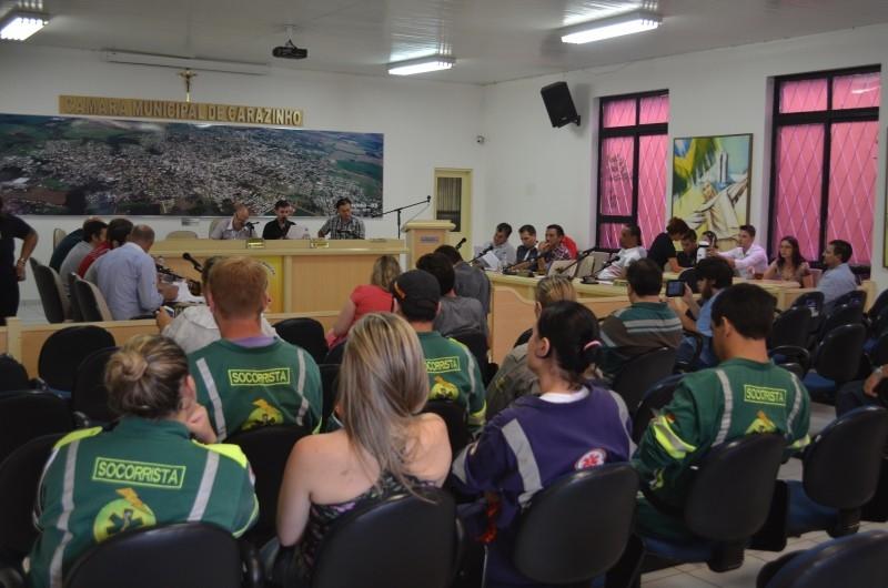 Sessão aprova projeto de doação aGSV