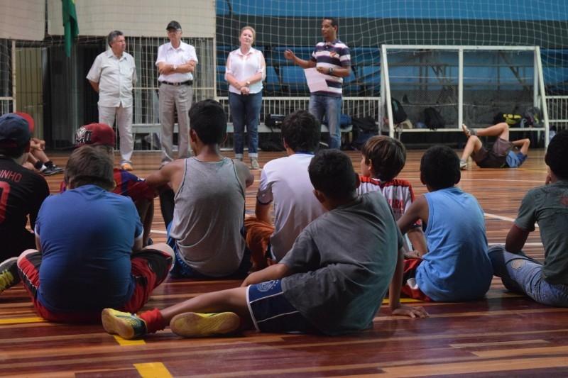Programa Descobrindo Talentos no Esporte reinicia em Carazinho