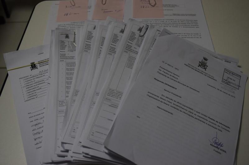 Documentos da Seara da Canção chegam na Câmara de Vereadores