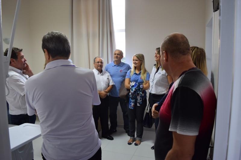 Câmara visita quartos reformados no HCC