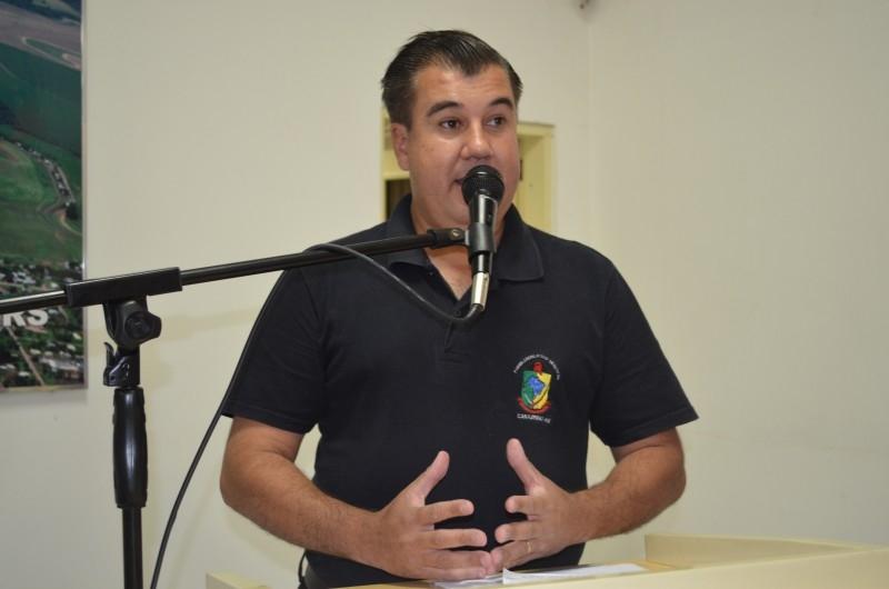 Vereador se posiciona contrário a doação de área para indígenas
