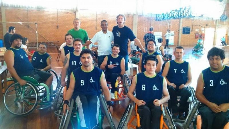 Vereador prestigia Torneio de Basquete de Carazinho