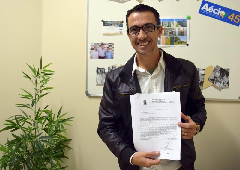 Vereador buscará emendas parlamentares para reestruturação do Parque Municipal