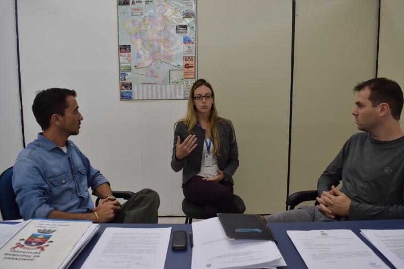 DEMA entrega a vereadores projeto para revitalização do Parque Municipal