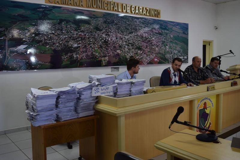 Vereadores desejam entregar relatório final da CPI ao Ministério Público
