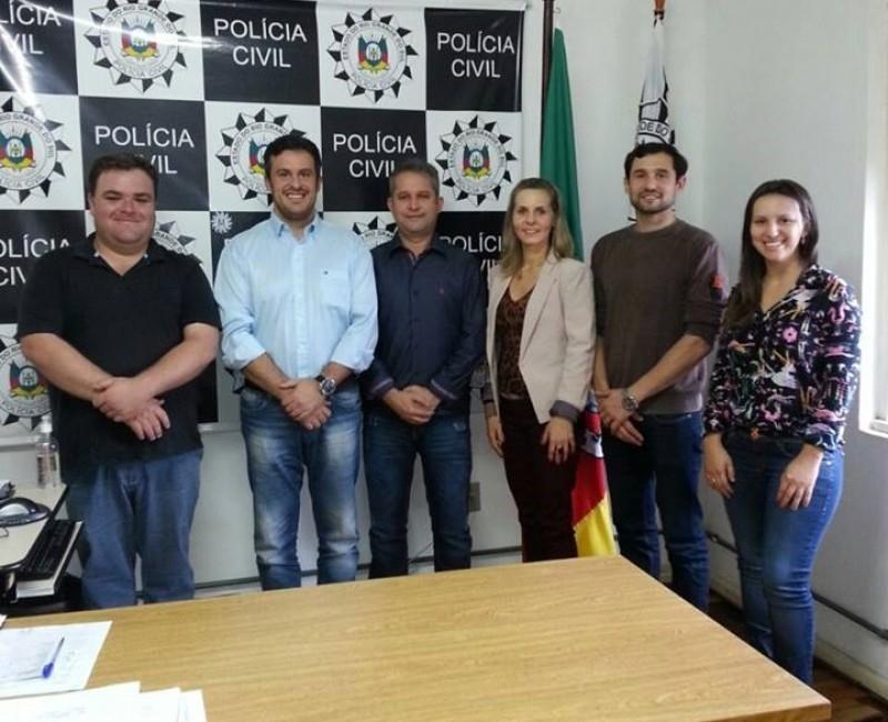 Comissão de Segurança se reúne com órgãos de segurança do município
