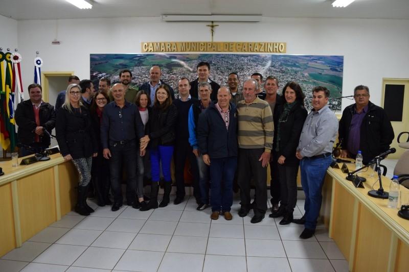 Vereadores destacam luta em prol da comunidade na renovação  entre prefeitura e HCC