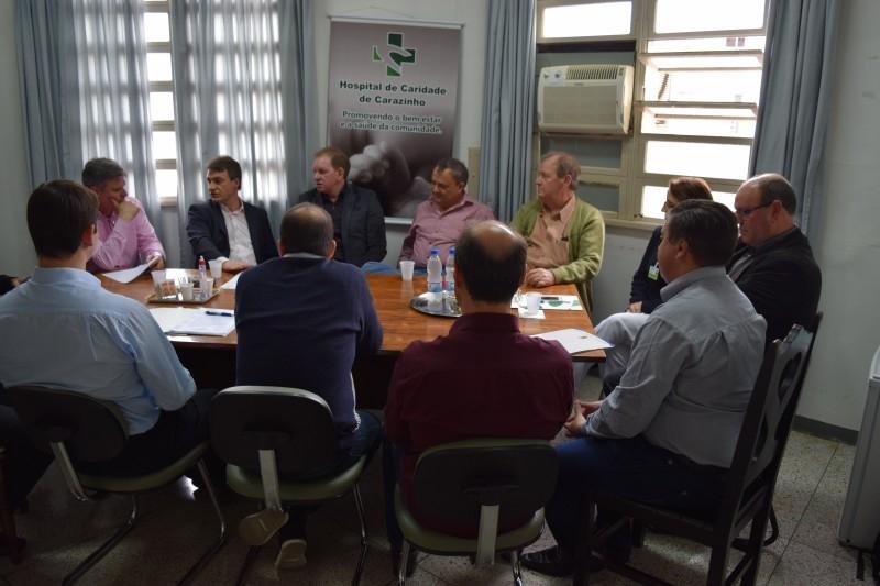 Vereador anuncia emenda parlamentar no valor de R$ 300 mil para o HCC