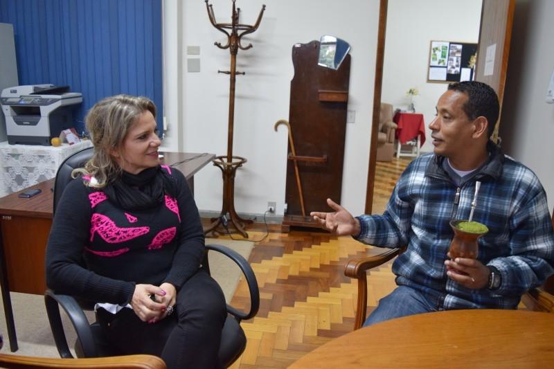 Vereador visita Museu Olívio Otto para conhecer melhorias