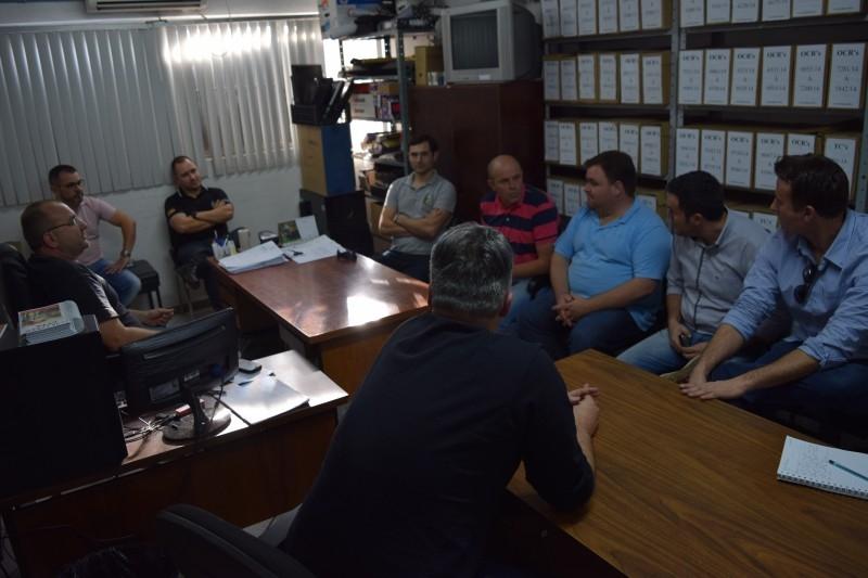Comissão de Segurança presta solidariedade a Polícia Civil de Carazinho