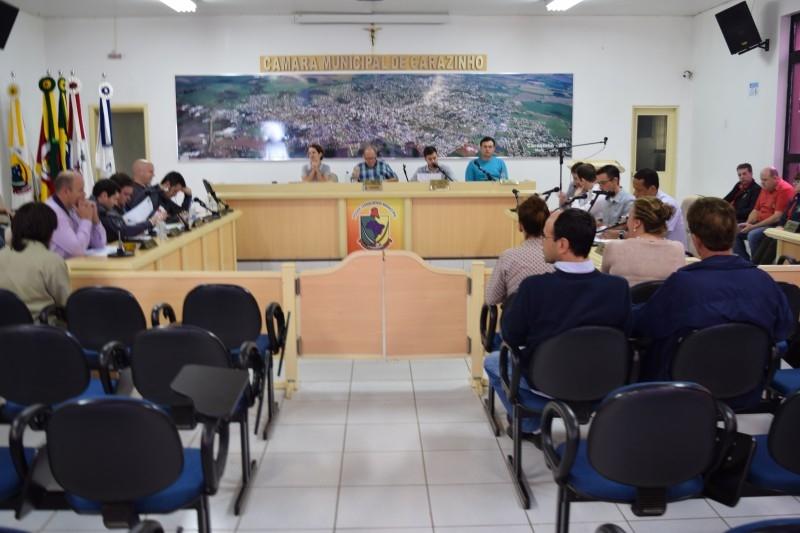 Sessão discute sobre segurança pública do município