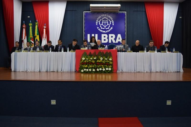 Sessão Solene abre as comemorações dos 15 anos da Ulbra