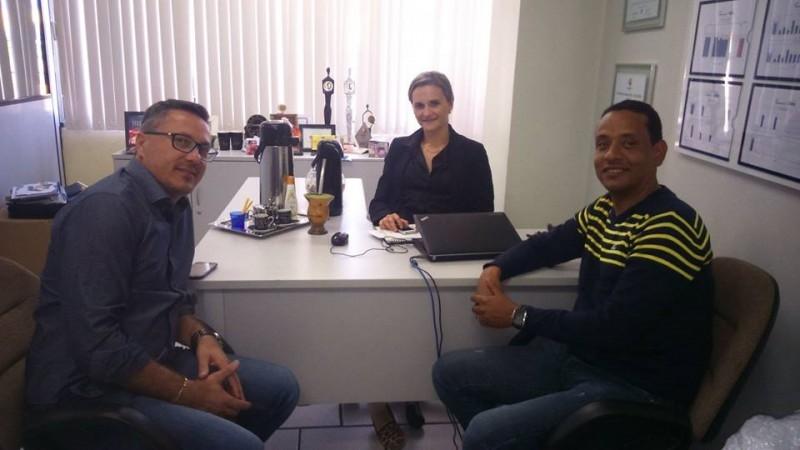 Vereador busca parceria com o Sesc para atividades no dia das crianças