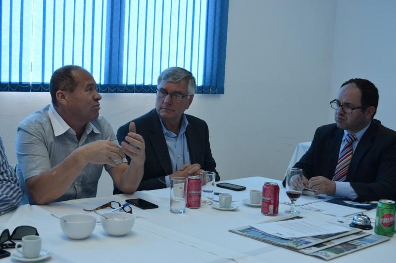 Segurança pública é discutida em reunião almoço