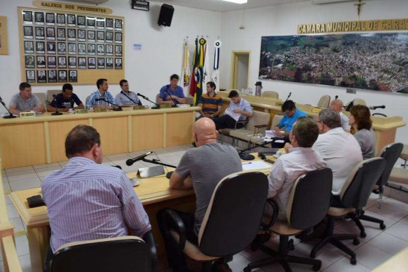 Vereadores discutem LDO com representantes da comunidade