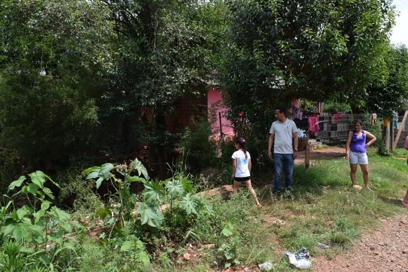 Moradores do Beco da Cuiabá solicitam apoio de vereador
