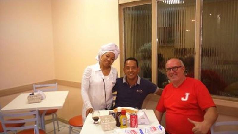 Vereador prestigia ação social em benefício do CASC