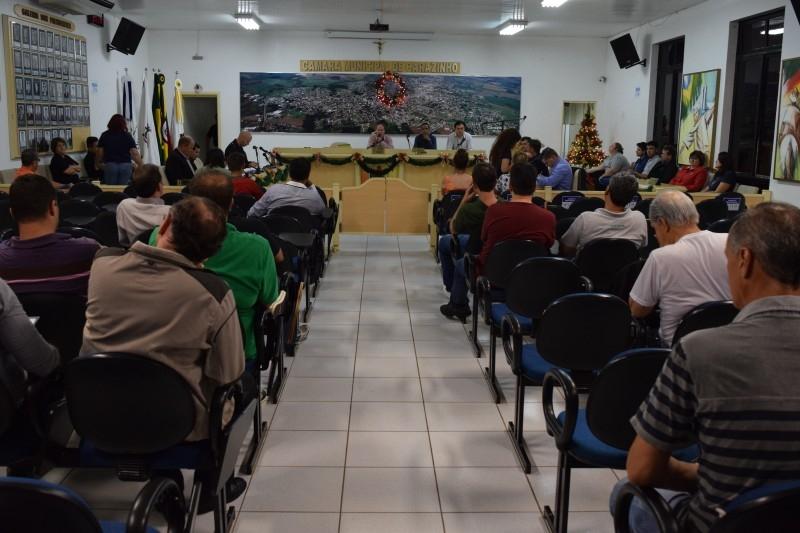 22 projetos são aprovados pelo Legislativo