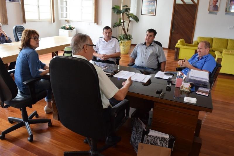 Gauchinho faz visita de cortesia ao prefeito municipal