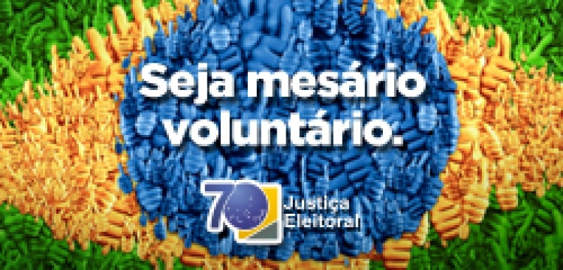 Eleições  2016: Cartório Eleitoral recebe inscrições para mesários voluntários